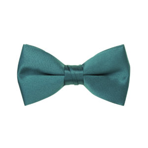 Emerald Green Satin Bow Tie